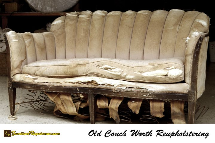 Old Couch Not Worth Reupholstering 1 2