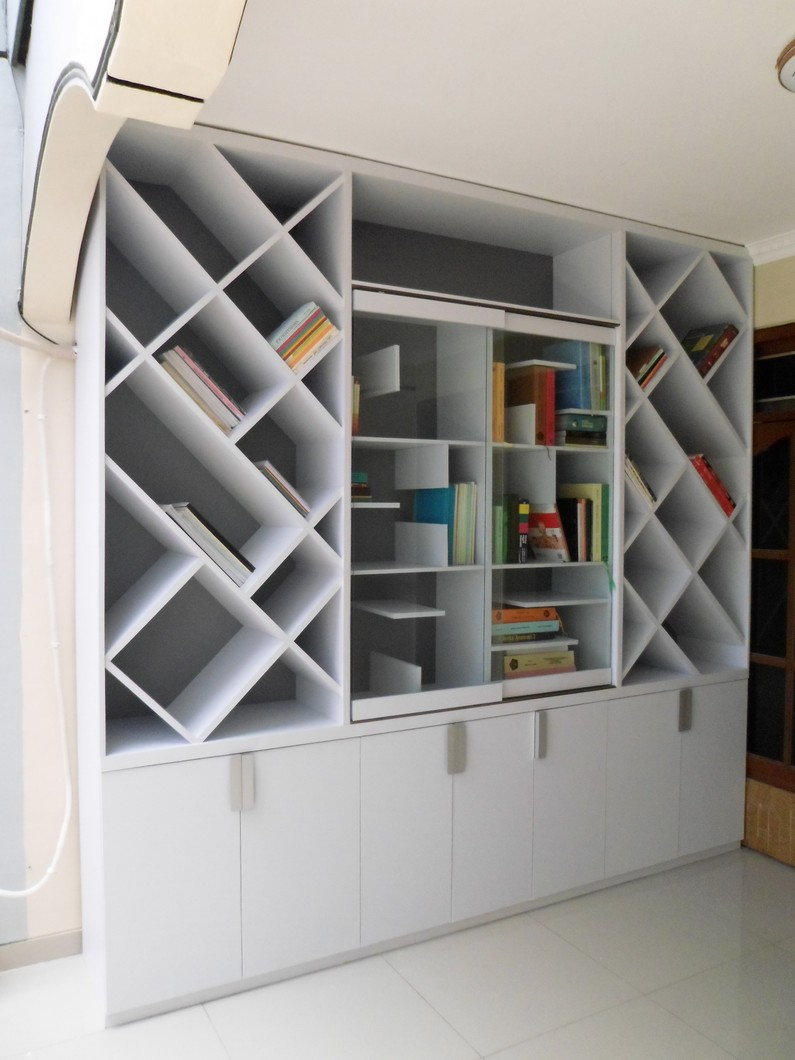 Furniture Dry Kitchen Meja Makan Rak Buku Besar
