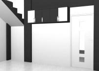 kitchen set 2 warna monokrom hitam putih furniture semarang (14)