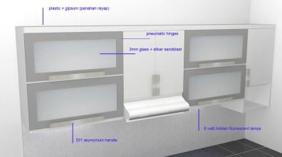 kitchen set bentuk l minimalis warna putih (6)