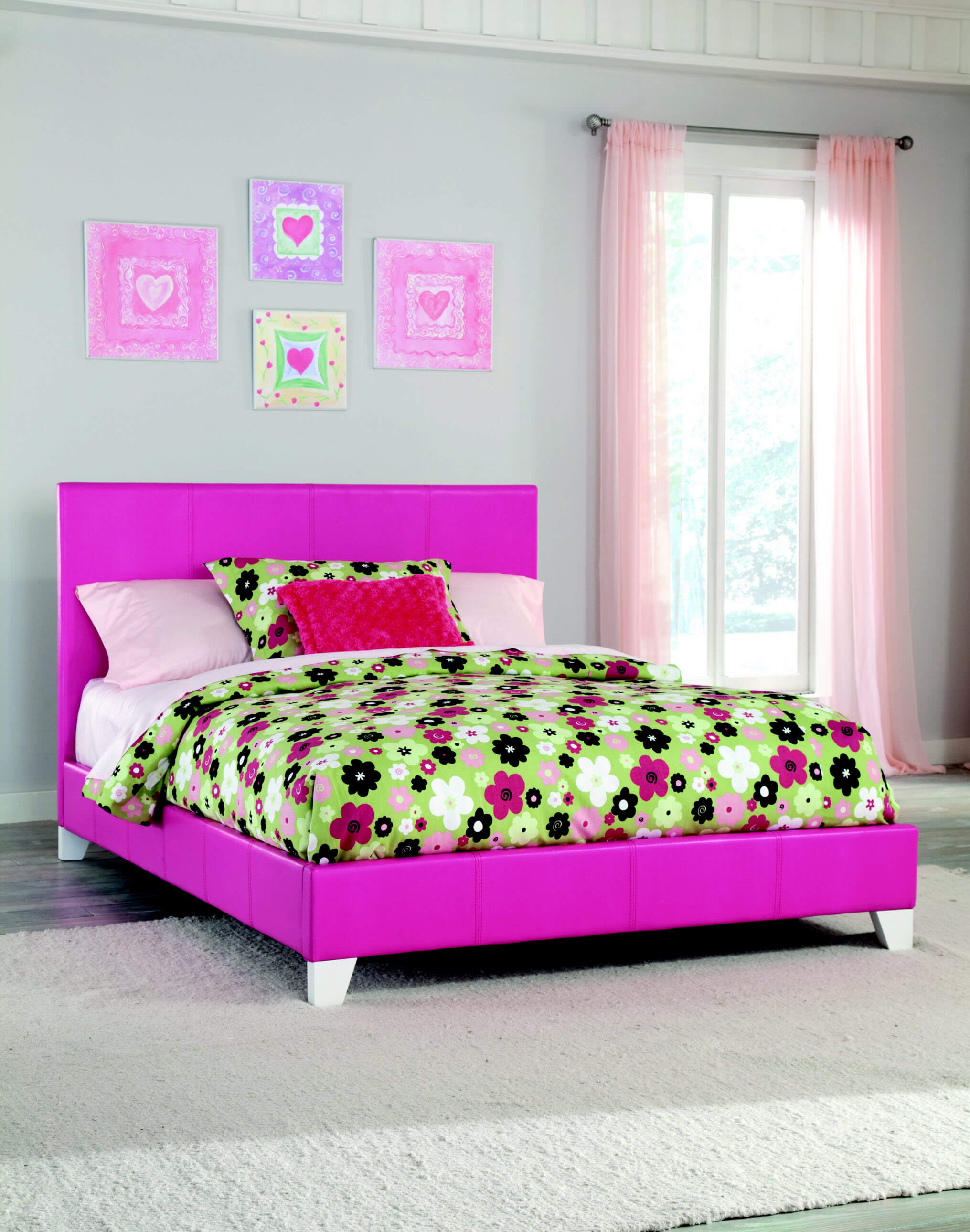 Kith Twin Pink Girls Bed Kids Beds