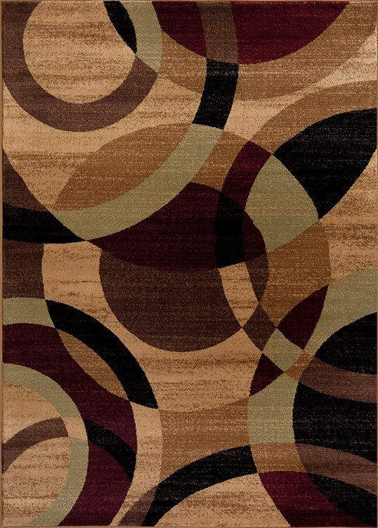 Multi Brown Alpine Rug Rugs Urban Furniture Outlet
