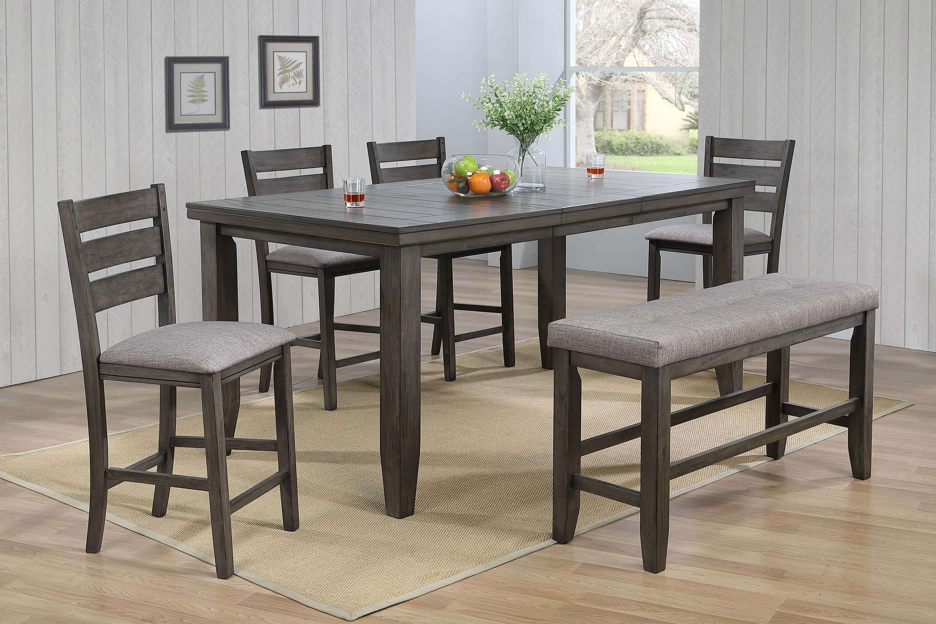 Bardstown Grey Counter Height Set Dining Room Sets