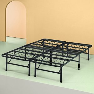 Sleep Master Platform Metal Bed Frame/Mattress Foundation, Queen