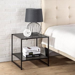 Zinus Dane Modern Studio Collection 20 Inch Square Side / End Table