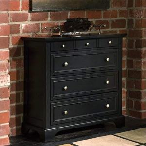 Bedford Black Four Drawer Chest by Home Styles