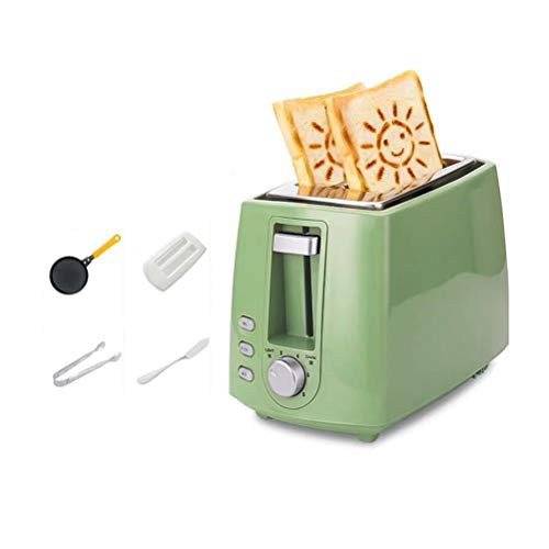 2-Slice Stainless Steel Toasters, With Cancel/Reheat/Defrost Function, 6 Browning Settings, Compact Small Toaster For Bread Waffles