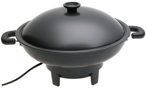 Aroma Housewares AEW-305 Electric Wok, Black