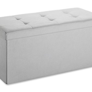 Whitmor Collapsible Storage Bench - Paloma Gray