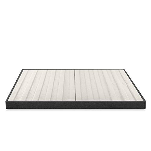 Zinus Daniel 4 Inch Essential Box Spring / Mattress Foundation / Easy Assembly Required, King
