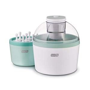 DASH DIC700AQ Everyday Popsicle Ice Cream Maker, 1 quart, Aqua