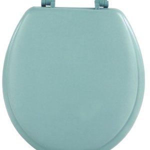 Achim Home Furnishings Light Green TOVYSTLG04 17-Inch Fantasia Standard Toilet Seat, Soft