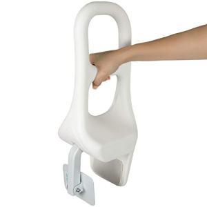 Vive Bathtub Rail - Heavy Duty Bathroom Tub Safety Rail for Elderly, Seniors, Handicap and Disabled - Clamp Railing Bath Support - Adjustable Shower Hand Grip - Handle Assist Grab Bar - Fits Most Tubs