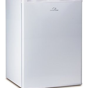 Commercial Cool CCR26W Compact Single Door Refrigerator and Freezer, 2.6 Cu. Ft. Mini Fridge, White