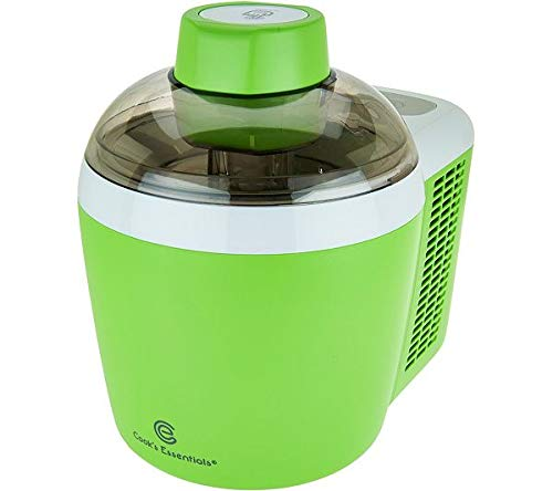 Cooks Essentials Ice Cream Maker Powerful 90W Motor Thermo Electric Self-Freezing System K45559061000 (Renewed)