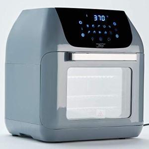 Power XL 10-in-1 1500W 6-qt Pro XLT Air Fryer Oven w/Rotisserie (Slate) (Renewed)