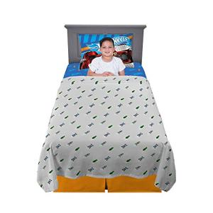 Franco Kids Bedding Super Soft Sheet Set, 3 Piece Twin Size, Hot Wheels