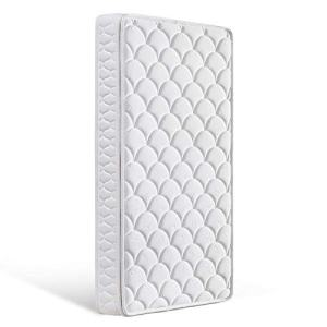 "Bubble bear Crib Baby Mattress for Baby & Toddler with Breathable Removable Knitted Fabric Cover, Washable Outer Covers (White, 52"" x 28""x 5"")"