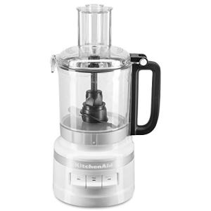 KitchenAid KFP0918WH Easy Store Food Processor, 9 Cup, White