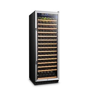 Lanbo Compressor Built-in Single Zone Wine Cooler with Safety Lock, 171 Bottles