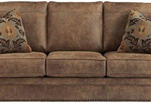 Signature Design by Ashley - Larkinhurst Contemporary Sofa, Earth