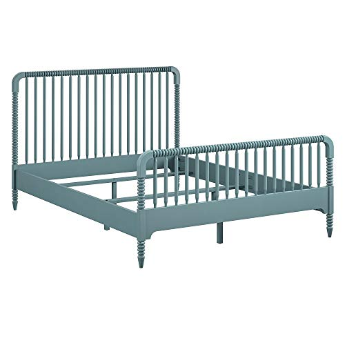Little Seeds Rowan Valley Linden Kids' Full Size Teal Bedframe Platform, Package deal Dimensions: 77.eight x 58.9 x 41.three inches