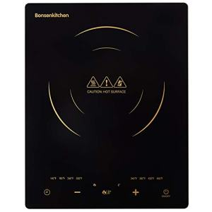 Portable Touch Induction Hob Cooktop with LED Touch Screen, Digital Hot Plate 1800W Countertop Burner, Induction Stove Cooker For Griddle, Pan, Tea Kettle, Outdoor, Indoor