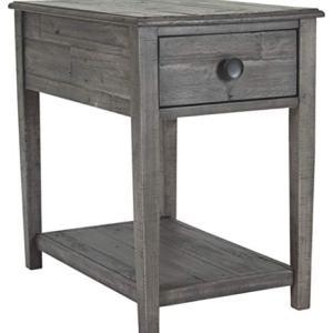 Signature Design by Ashley - Borlofield Rectangular End Table, Dark Gray