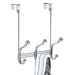 "iDesign Formbu Stainless Steel Wall Mount Mail and Key Rack - 11.25"" x 2.5"" x 4.5"", Brushed/Espresso"