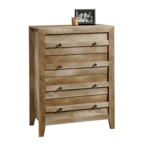 Sauder Dakota Pass 4-Drawer Chest, Craftsman Oak finish Guarantee: 5 years elements.