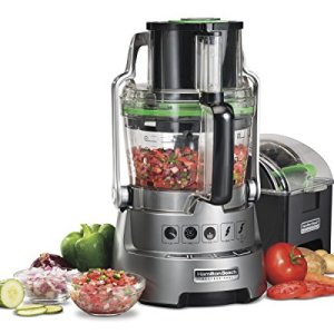 Hamilton Beach Professional 14-Cup Dicing Food Processor BPA-Free Bowl, Extra-Wide Feed Chute (70825)