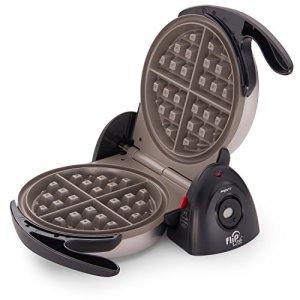 Presto 03510 Ceramic FlipSide Belgian Waffle Maker,Black