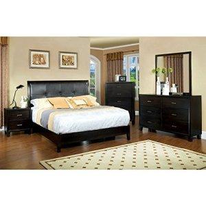 247SHOPATHOME bedroom-furniture-sets, King, Espresso