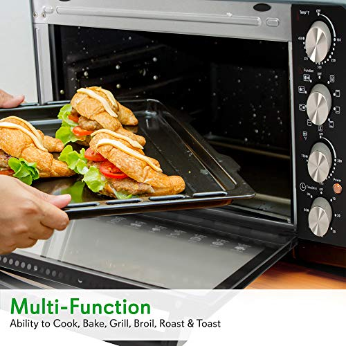 30 Quarts Kitchen Convection Oven - 1400 Watt Countertop Turbo Launch Date: 2016-07-28T00:00:01Z