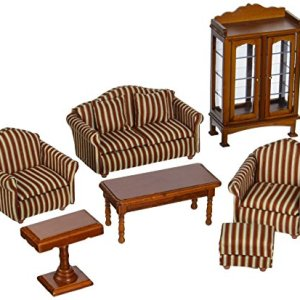 Melissa and Doug Doll-House Furniture- Living Room Set
