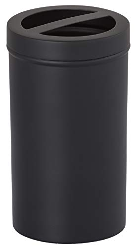 Gramercy Accents, Brass, Matte Black Finish, Toothbrush Holder, 2.5 Inches by 4.5 Inches