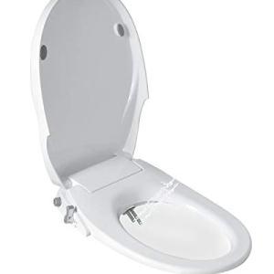 Toilet Seat Bidet with Dual Nozzles-Rear & Feminine Washing,Non Electric Bidet…