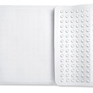 Sagler Bath mats Non Slip Shower mats, with Powerful Gripping Technology Fits Any Size Bath Tub BPA-Free