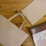 【開封レビュー】CLATHAS BAG & POUCH BOOK付録 「クレイサス トートバッグ&スクエア型ポーチセット」