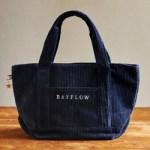 BAYFLOW corduroy tote bag book 【付録】 ベイフロー コーデュロイ トートバッグ