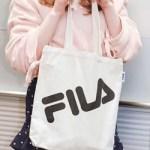 Popteen ポップティーン 2018年 5月号 【付録】 FILA キャンパス地トートバッグ