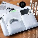 Get Navi ゲットナビ  2018年 10月号 【付録】 ナノ・ユニバース スマート インナー バッグ