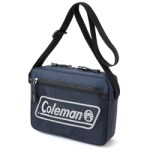 Coleman BRAND BOOK special package NAVY ver. 【付録】 コールマン メッシュポケット ショルダーバッグ ネイビー &本革チャーム