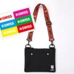 K・SWISS Special Book 【付録】 ロゴテープショルダーバッグ、オリジナルステッカー