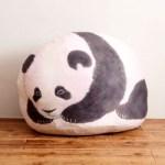 本物みたいな子パンダと寝られる 大きく膨らむクッション収納ケースBOOK 【付録】 本物みたいな子パンダクッション収納ケース + シャンシャンのフォトブック