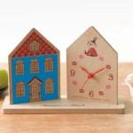 リンネル 2020年 3月号 増刊 【付録】MOOMIN × Samansa Mos2 ウッド調がおしゃれなムーミンハウス型 置き時計