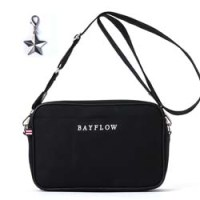 BAYFLOW LOGO SHOULDER BAG BOOK BLACK 【付録】 ショルダーバッグ