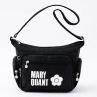 ▶ファミリーマート限定 MARY QUANT special package ver. 【付録】 MARY QUANT 6ポケットショルダーバッグ