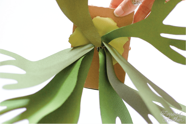 Silhouette Design Store Paper Staghorn Fern - Furrow and Feather
