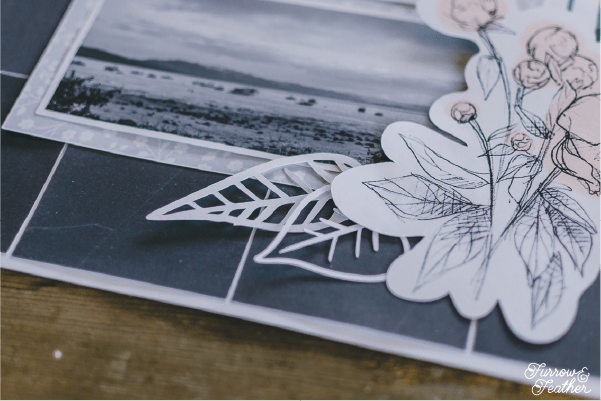 Free Print and Cut Peony File - Furrow and Feather
